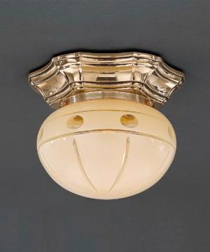 Точечный светильник RECCAGNI ANGELO PL 7833/1 Oro Francese