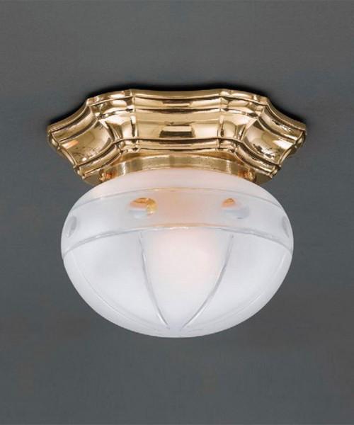 Точечный светильник RECCAGNI ANGELO PL 7834/1 Oro Francese