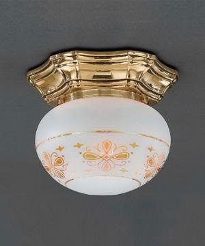 Точечный светильник RECCAGNI ANGELO PL 7835/1 Oro Francese