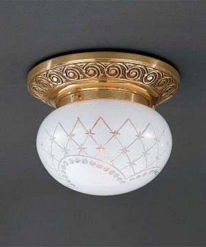 Точечный светильник RECCAGNI ANGELO PL 7840/1 Oro Francese