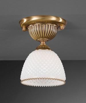 Точечный светильник RECCAGNI ANGELO PL 8601/1 Bronzo Arte