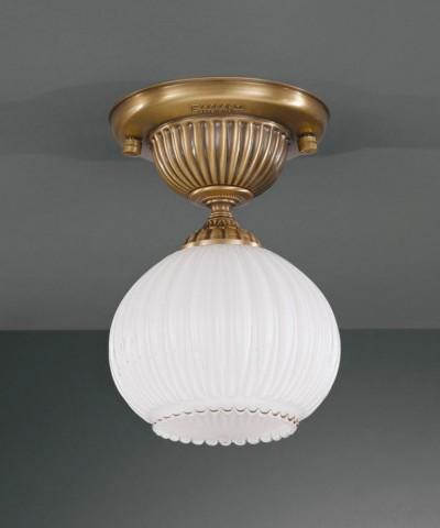 Точечный светильник RECCAGNI ANGELO PL. 9250/1 Bronzo Arte