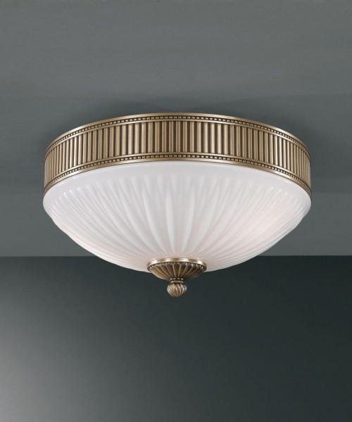 Потолочный светильник RECCAGNI ANGELO PL. 9250/3 Bronzo Arte