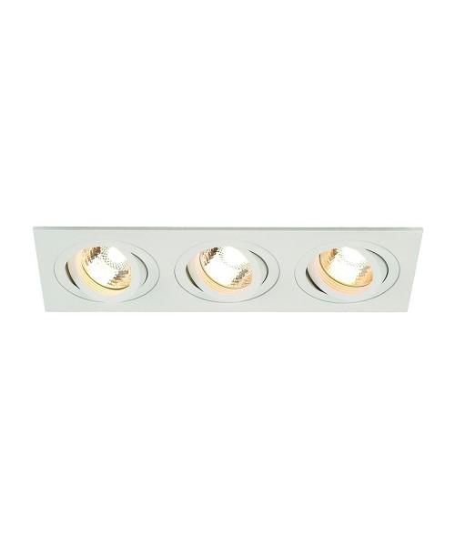 Точечный светильник SLV 113513 New Tria GU10 3 Square