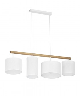 TK Lighting 4106 Deva White