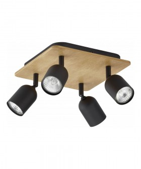 TK Lighting 3293 Top Wood