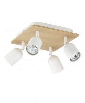 TK Lighting 3297 Top Wood
