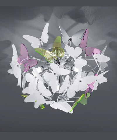 Потолочная люстра REALITY R60213017 Butterfly