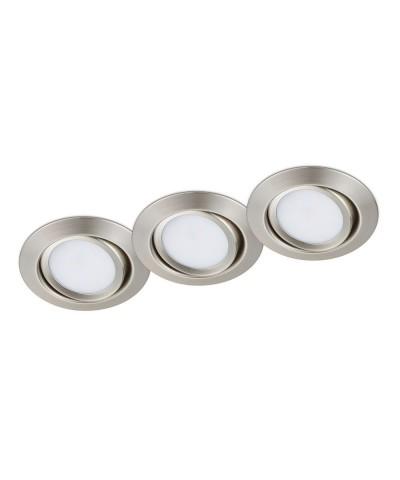 Набор из 3х точечных светильников Trio 650310307 Rila
