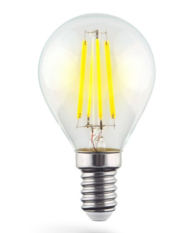 Светодиодная лампа Voltega 7022 E14 6W 4000K Globe Фото 1