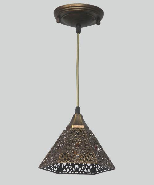 Подвесной светильник Wunderlicht YW3853-P1B Ethno