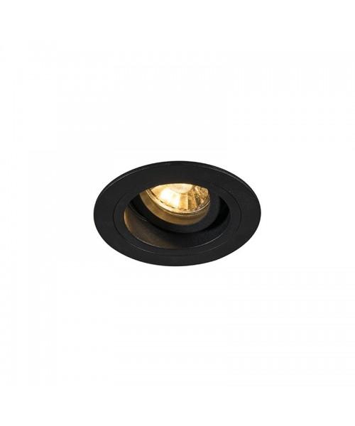 Точечный светильник Zuma Line 92700 Chuck Dl Round Black