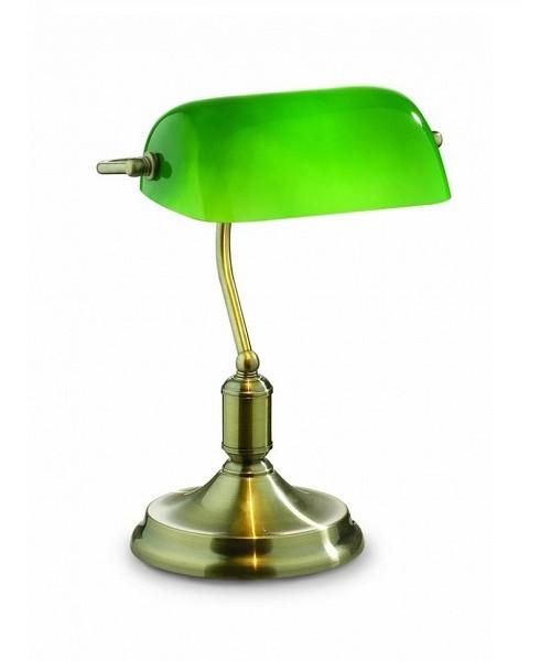 Настольная лампа IDEAL LUX 045030 LAWYER TL1 BRUNITO