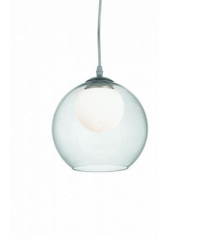 Подвесной светильник IDEAL LUX 052793 NEMO SP1 D20 TRASPARENTE