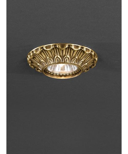 Точечный светильник RECCAGNI ANGELO 1077 Bronzo