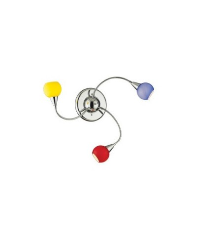 Потолочная люстра IDEAL LUX 006543 TENDER PL3 COLOR