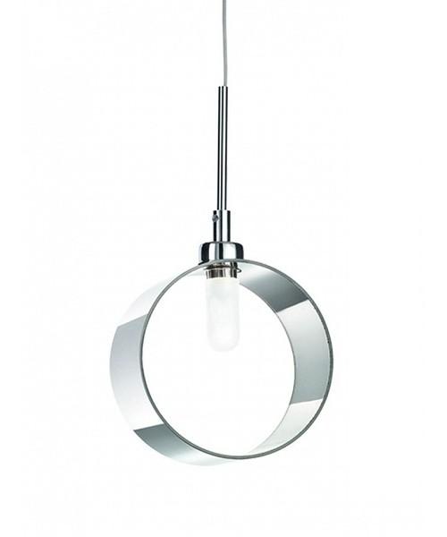 Подвесной светильник IDEAL LUX 015316 ANELLO SP1 CROMO