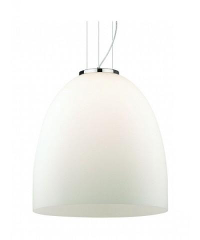 Подвесной светильник IDEAL LUX 077697 EVA SP1 SMALL BIANCO