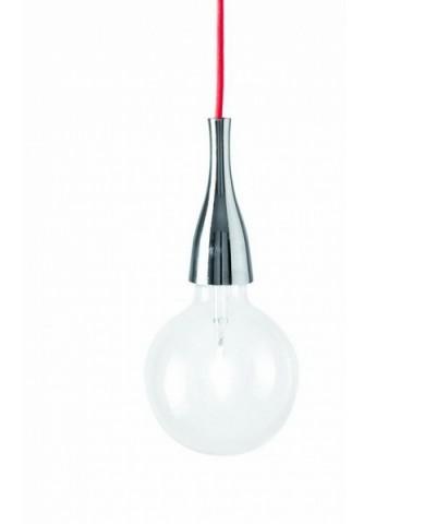 Подвесной светильник IDEAL LUX 009384 MINIMAL SP1 CROMO