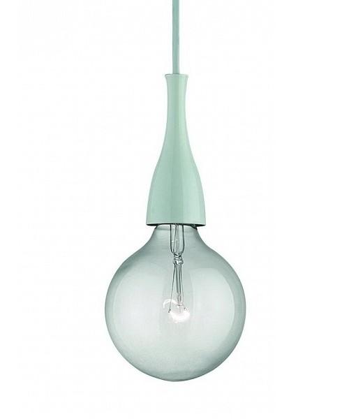 Подвесной светильник IDEAL LUX 009360 MINIMAL SP1 BIANCO