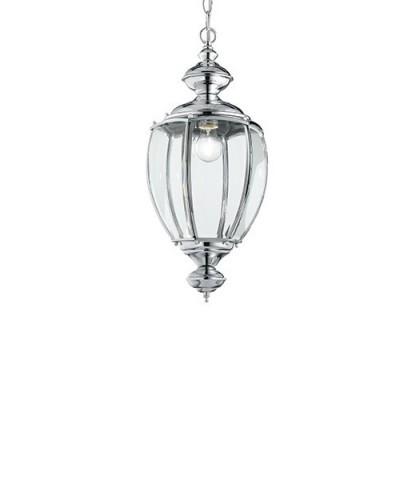 Подвесной светильник IDEAL LUX 094786 NORMA SP1 BIG CROMO