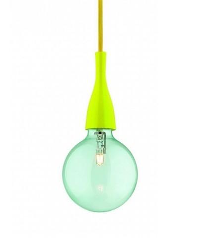 Подвесной светильник IDEAL LUX 063621 MINIMAL SP1 GIALLO