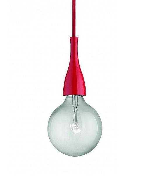 Подвесной светильник IDEAL LUX 009414 MINIMAL SP1 ROSSO