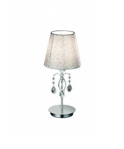 Настольная лампа IDEAL LUX 088150 PANTHEON TL1 SMALL CROMO