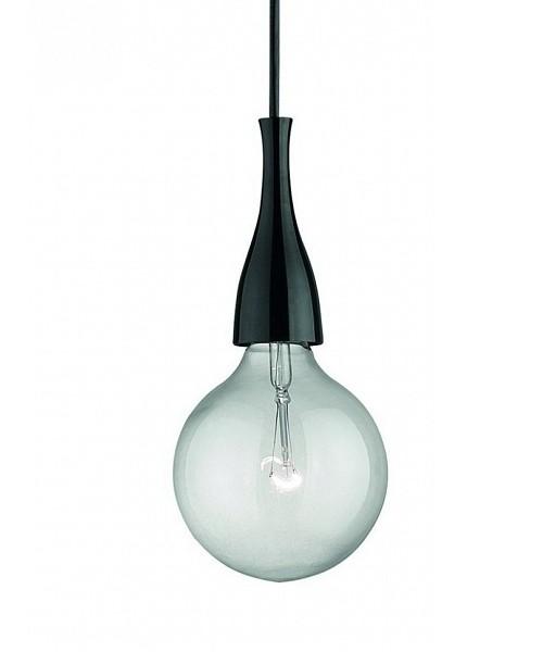 Подвесной светильник IDEAL LUX 009407 MINIMAL SP1 NERO