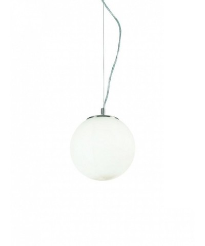 Подвесной светильник IDEAL LUX 009148 MAPA BIANCO SP1 D20