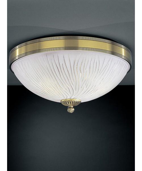 Потолочный светильник RECCAGNI ANGELO PL 5650/3 Bronzo Arte
