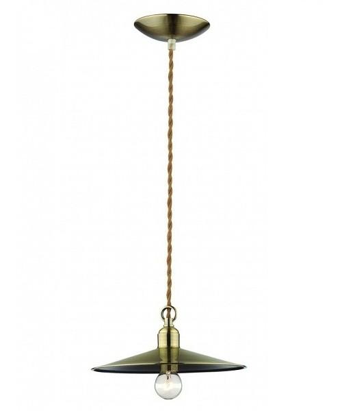 Подвесной светильник IDEAL LUX 089768 CANTINA SP1 BRUNITO