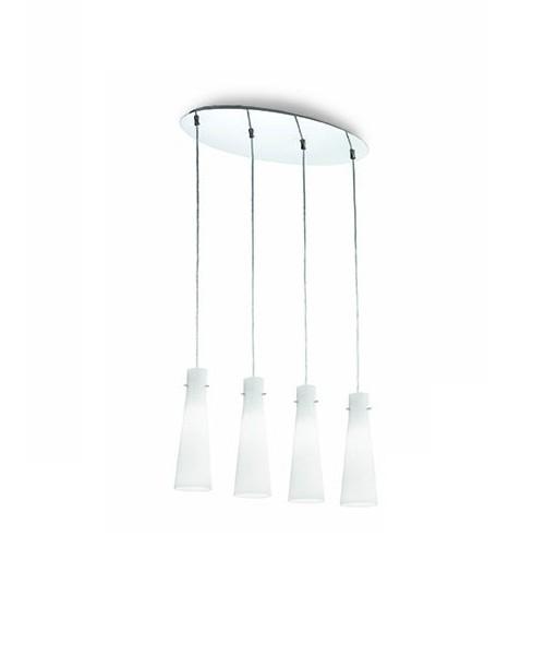 Подвесной светильник IDEAL LUX 053455 KUKY BIANCO SP4